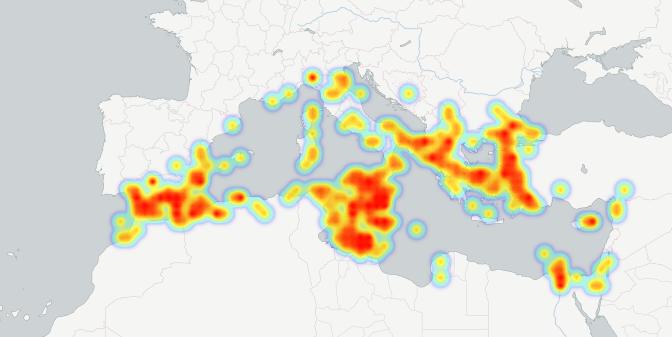 mapa calor