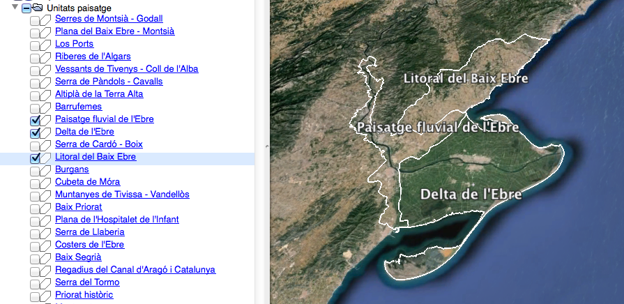 Tutorial (1) Kml per Google Earth (català)